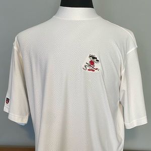 NWOT Antigua mock neck golf shirt.